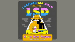 No New Friends (Dombresky Remix - Official Audio) - LSD, Sia, Diplo, Labrinth