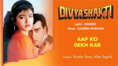 Aap Ko Dekh Kar (Pseudo Video) - Nadeem Shravan, Kumar Sanu, Alka Yagnik