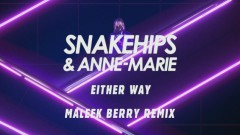 Either Way (Maleek Berry Remix [Audio]) - Snakehips, Anne-Marie, Joey BADA$$
