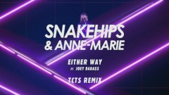 Either Way (TCTS Remix [Audio]) - Snakehips, Anne-Marie, Joey BADA$$