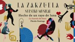 Hecho de un Rayo de Luna (La Leyenda del Beso) (Audio) - Plácido Domingo