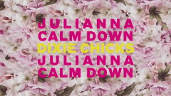 Julianna Calm Down (Official Lyric Video) - Dixie Chicks