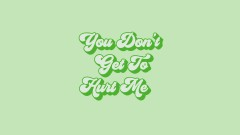 Hurt Me (From