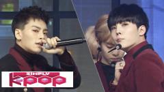 Rainy Day (161209 Simply K-Pop) - Topp Dogg
