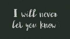 Never Let You Know (Lyrics Video) - Nightcall, Lucas Estrada