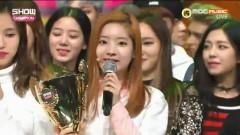 Today's Winner + Encore (161102 Show Champion) - TWICE
