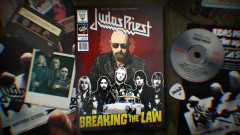 Breaking the Law (Official Lyric Video) - Judas Priest