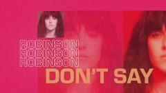 Don't Say (Lyric Video) - Robinson