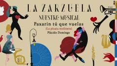 Paxarin Tu Que Vuelas (La Picara Molinera) (Audio) - Plácido Domingo