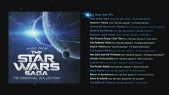 Music From The Star Wars Saga - The Essential Collection - Album Preview Player - Robert Ziegler