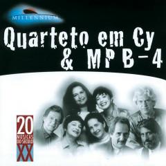 20 Grandes Sucessos De Quarteto Em Cy & Mpb-4