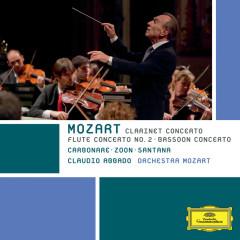 Mozart: Clarinet Concerto; Flute Concerto No. 2; Bassoon Concerto (2006ライヴインボローニャ) - Alessandro Carbonare, Jacques Zoon, Guilhaume Santana, Orchestra Mozart, Claudio Abbado