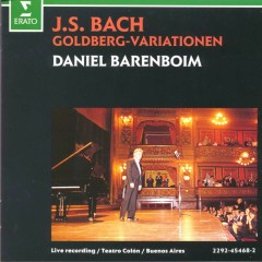 Bach, JS : Goldberg Variations - Daniel Barenboim