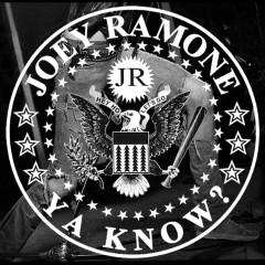 ...ya know? - Joey Ramone