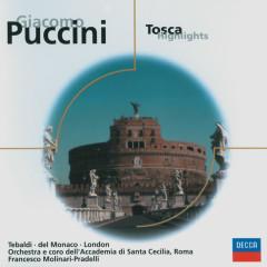 Puccini: Tosca (highlights) - Renata Tebaldi, Mario Del Monaco, George London, Orchestra dell'Accademia Nazionale di Santa Cecilia, Coro dell'Accademia Nazionale Di Santa Cecilia