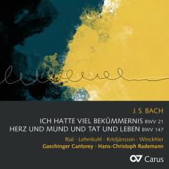 Bach, J.S.: Ich hatte viel Bekümmernis, Cantata BWV 21; Herz und Mund und Tat und Leben, Cantata BWV 147 - Nuria Rial, Wiebke Lehmkuhl, Benedikt Kristjánsson, Matthias Winckhler, Gaechinger Cantorey