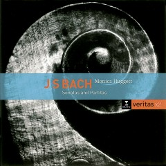 Bach: Sonatas & Partitas for solo violin - Monica Huggett