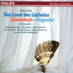 Das Land des Lächelns - Der Zarewitsch - Paganini - Reinhold Bartel, Rita Bartos, Herta Talmar, Willi Hofmann, Renate Holm