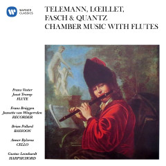 Telemann, Lœillet, Fasch & Quantz: Chamber Music with Flutes - Frans Brüggen, Frans Vester, Gustav Leonhardt