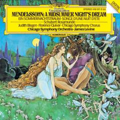 Mendelssohn: A Midsummer Night's Dream / Schubert: Rosamunde - Judith Blegen, Florence Quivar, James Levine, Chicago Symphony Chorus, Chicago Symphony Orchestra