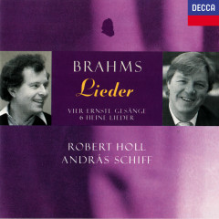 Brahms: Lieder - Robert Holl, Andras Schiff