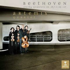 Beethoven : String Quartets Op.18/1 and Op.127 (Beethoven volume 6) - Artemis Quartet