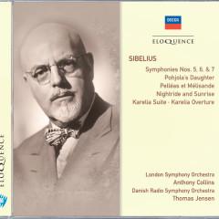 Sibelius: Symphonies 5, 6 & 7; Pohjola's Daughter; Pelleás et Mélisande - London Symphony Orchestra, Anthony Collins, Danish Radio Symphony Orchestra, Thomas Jensen