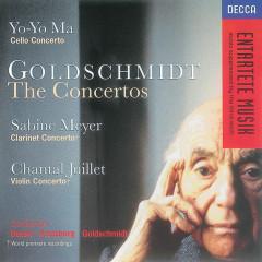 Goldschmidt: Cello Concerto/Clarinet Concerto/Violin Concerto - Yo-Yo Ma, Orchestre Symphonique de Montreál, Charles Dutoit, Sabine Meyer, Sinfonieorchester Komische Oper