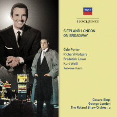 Siepi And London On Broadway - Cesare Siepi, George London, The Roland Shaw Orchestra