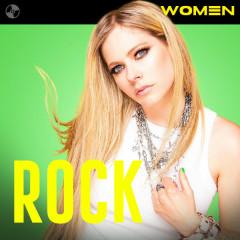 Women Of Rock - Avril Lavigne, Hayley Williams, Alanis Morissette, Willow