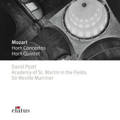 Mozart : Horn Concertos 1-4 & Horn Quintet  -  Elatus - David Pyatt