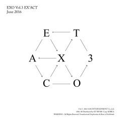 EX'ACT - The 3rd Album - EXO