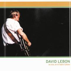 David Lebón - En Vivo en el Teatro Coliseo - David Lebon