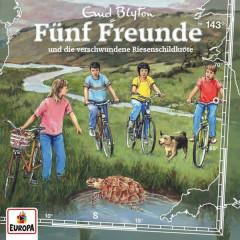 143/und die verschwundene Riesenschildkröte - Fünf Freunde