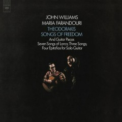 John Williams Plays Theodorakis  - Songs of Freedom