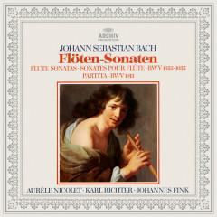 Bach: Partita BWV 1013, Flute Sonatas BWV 1033, 1034 & 1035 - Karl Richter, Aurèle Nicolet, Johannes Fink