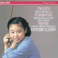 Paganini: Violin Concerto No. 1 - Tchaikovsky: Sérénade mélancolique; Valse-Scherzo - Midori, London Symphony Orchestra, Leonard Slatkin