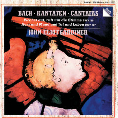Bach, J.S.: Cantatas for the 27th Sunday after Trinity, BWV 140 & for the Feast of the Visitation of Mary (2 July), BWV 147 - The Monteverdi Choir, English Baroque Soloists, John Eliot Gardiner, Ruth Holton, Michael Chance
