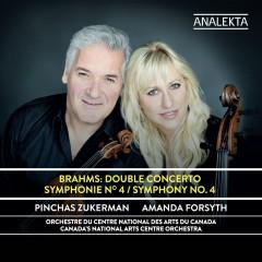 Brahms: Double Concerto - Symphony No. 4 - Canada's National Arts Centre Orchestra, Pinchas Zukerman, Amanda Forsyth