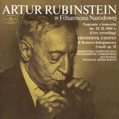 Artur Rubinstein w Filharmonii Narodowej - Artur Rubinstein