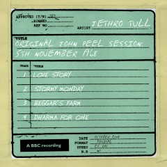 Original John Peel Session: 5th November 1968 - Jethro Tull