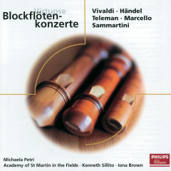 Virtuose Blockflötenkonzerte