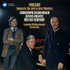 Mozart: Concertos for 2 & 3 Pianos - Christoph Eschenbach, Helmut Schmidt, Justus Frantz, London Philharmonic Orchestra