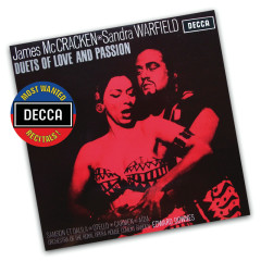 Duets Of Love And Passion - James McCracken, Sandra Warfield, Orchestra of the Royal Opera House, Covent Garden, Sir Edward Downes