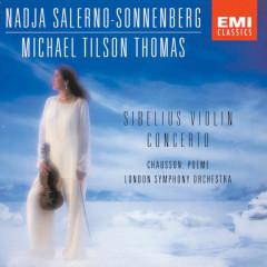 Sibelius - Chausson - Nadja Salerno-Sonnenberg, London Symphony Orchestra, Michael Tilson Thomas