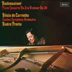 Rachmaninov: Piano Concerto No. 3 - Alicia De Larrocha, London Symphony Orchestra, Andre Previn