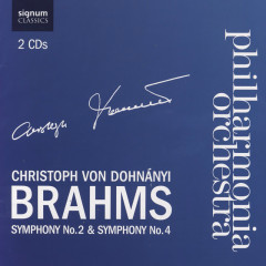 Brahms Symphony No. 2 & Symphony No. 4 - Philharmonia Orchestra, Christoph von Dohnanyi