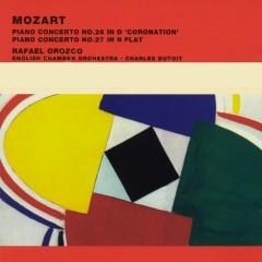 Mozart Piano Concertos Nos. 26 in D 'Coronation' & 27 in B flat - Rafael Orozco, English Chamber Orchestra, Pierre Boulez & Orchestra National de Radio France