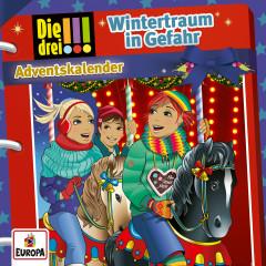 Adventskalender - Wintertraum in Gefahr - Die drei !!!