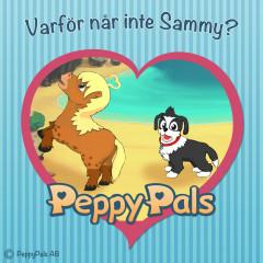 Varför når inte Sammy? (Ljudbok) - Peppy Pals